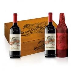 3 Botellas de Castillo de Ygay Gran Reserva 2007 en Caja de Madera Marqués de Murrieta