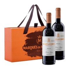 Estuche regalo con 2 botellas Marqués de Murrieta Reserva