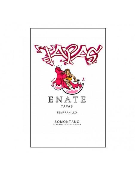 Etiqueta del vino Entate Tapas