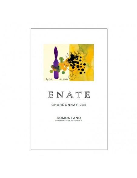 Etiqueta del vino Enate Chardonnay 234