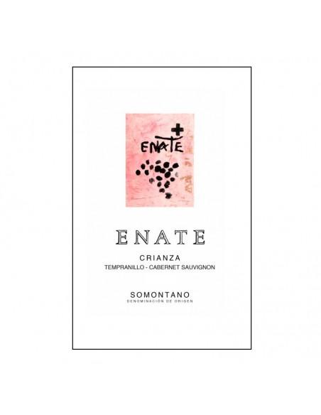 Etiqueta del vino Enate Crianza