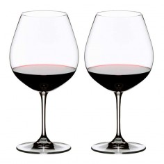 Riedel Vinum Wine glasses Pinot Noir (Burgundy Red)