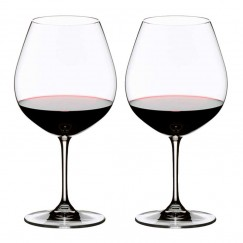 Riedel Vinum Wine glasses Pinot Noir (Burgundy Red)