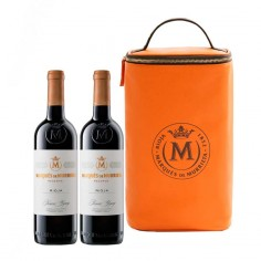 Bolsa Regalo con 2 botellas Marqués de Murrieta Reserva 2016