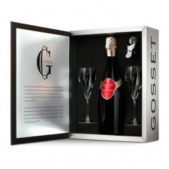 Estuche regalo con Champagne Gosset Grande Réserve