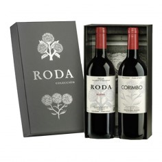 Estuche Regalo con Roda 2013 Reserva y Corimbo 2013 Reserva