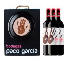 Estuche regalo con 3 botellas de Paco García
