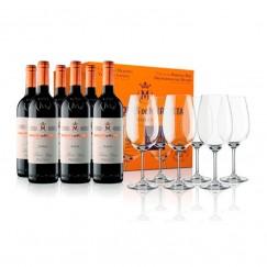 6 Marqués de Murrieta Reserva + 6 copas