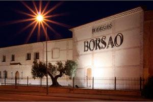 Bodegas Borsao en Campo de Borja