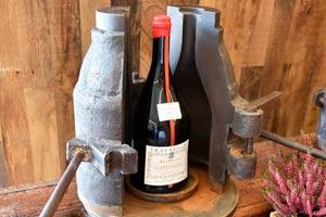 Icónica botella de Travaglini