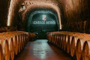 Calados en Bodegas y Viñedos Carlos Moro
