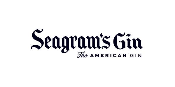 Logo Seagram's Gin