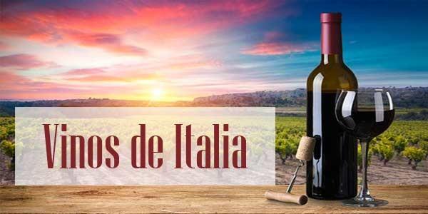 Vinos de IItalia